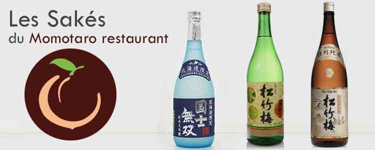 les-sakes-proposes-au-restaurant-momotaro